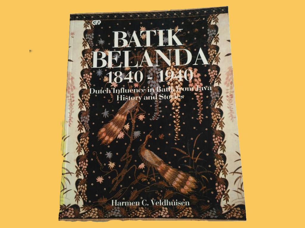 Buku Batik Belanda Terbit 1993